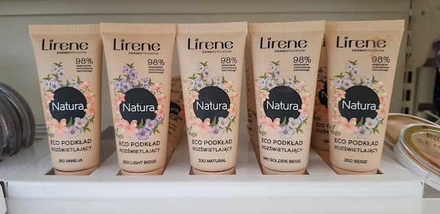 Lirene eco podkład rozświetlający
