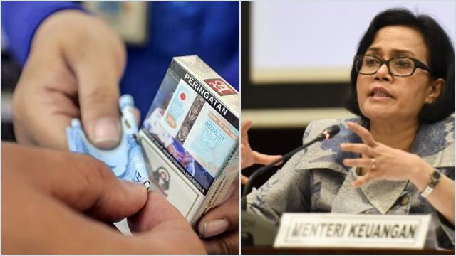 Sri Mulyani Naikkan Cukai Rokok hingga 18,4 Persen Mulai Hari Ini