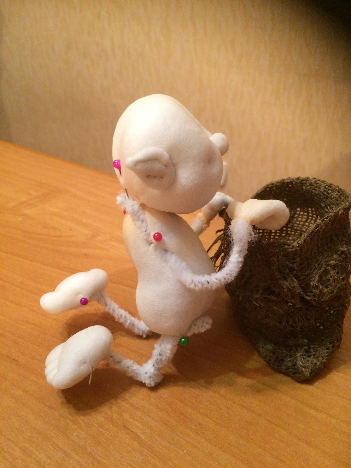 Куклы из капрона елена лаврентьева 60