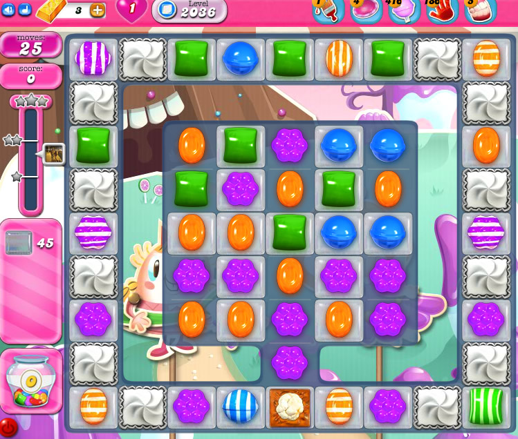 Candy Crush Saga 2036