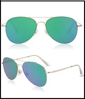 SOJOS classic aviator sunglasses for women