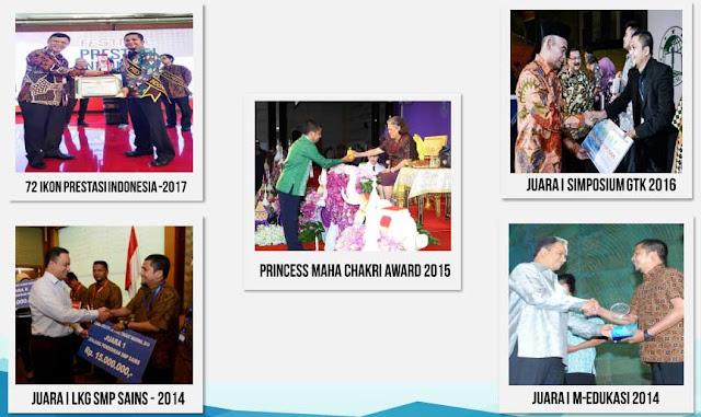 Herwin Hamid-Ikon Prestasi Indonesia, Peraih Princess Maha Chakri Award 2015