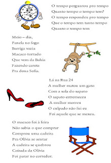 Folclore brasileiro, parlendas