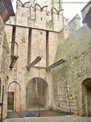 Scaligera Castle in Sirmione