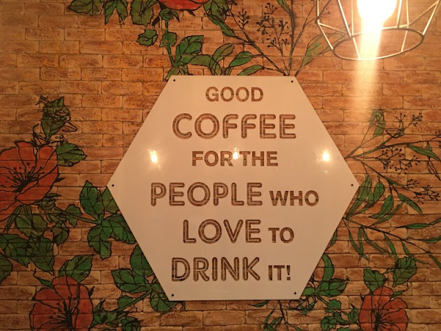 Good coffee for the people who love to drink it