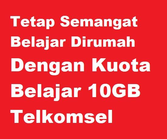 GB Telkomsel adalah kuota gabungan antara Ilmupedia dan Conference yang bisa kamu gunakan  Cara Menggunakan Kuota Belajar 10GB Telkomsel