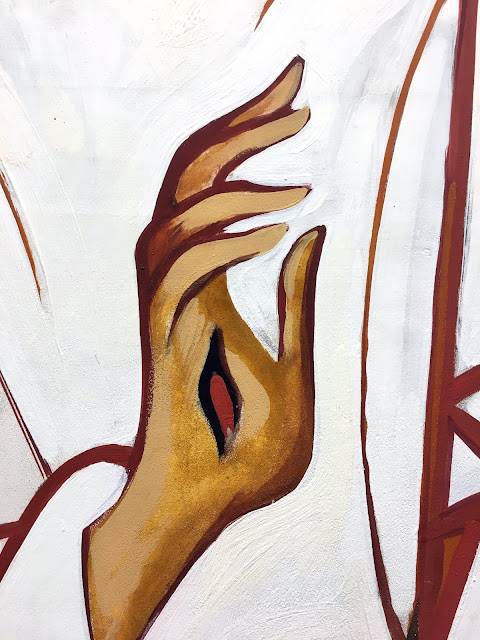 Chaga da mão de Jesus Cristo