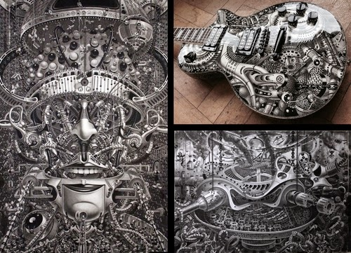 00-Samuel-Gomez-Massive-Detailed-Drawings-and-a-Guitar-www-designstack-co