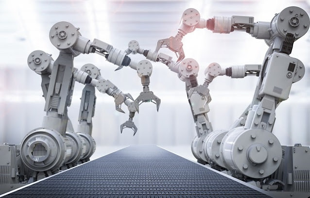 manufacturing factory future of work ai robotics technology