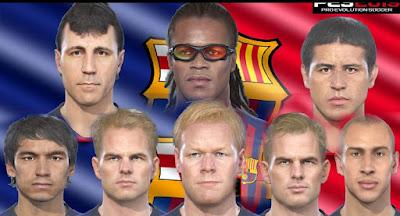 PES 2019 Facepack F.C. Barcelona Legends by MictlanTheGod
