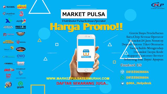 Market Pulsa Digital, Solusi Bisnis Modal Kecil