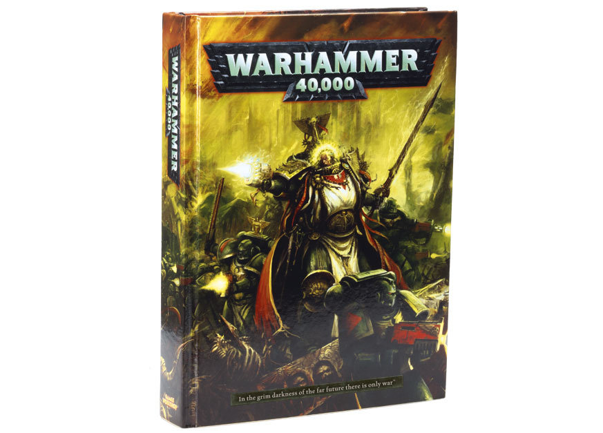 battleground hobbies  new warhammer 40k rulebook from