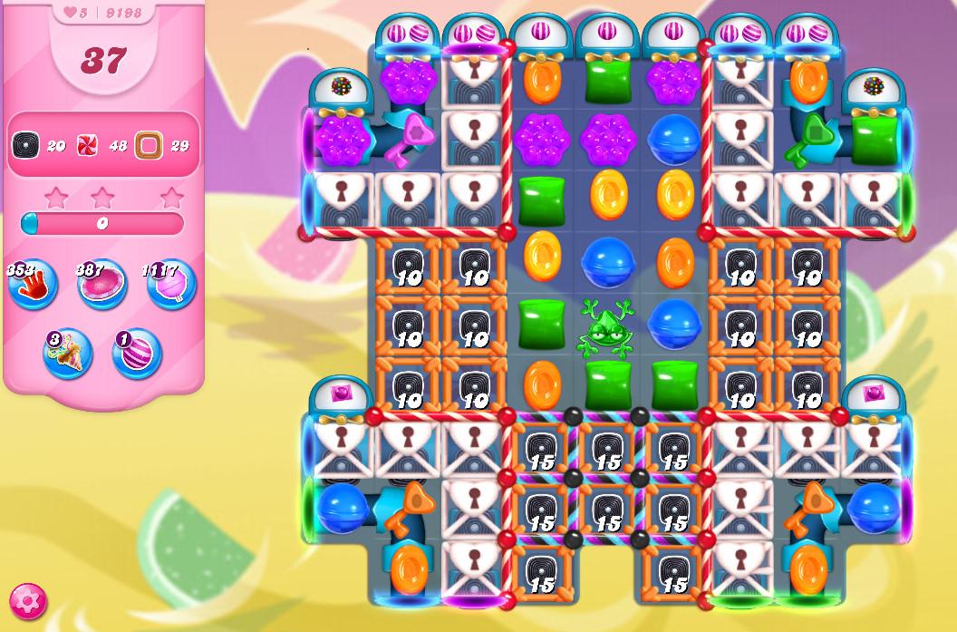 Candy Crush Saga level 9198