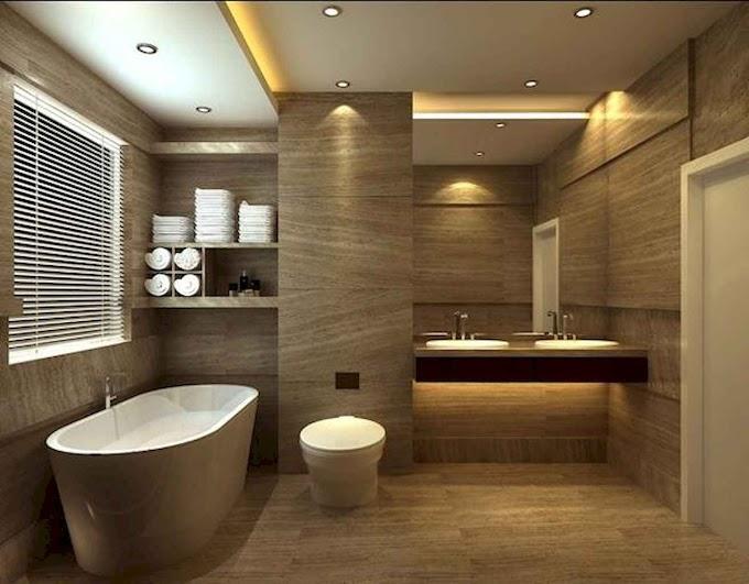 60 Awesome Minimalist Bathroom Decoration Ideas