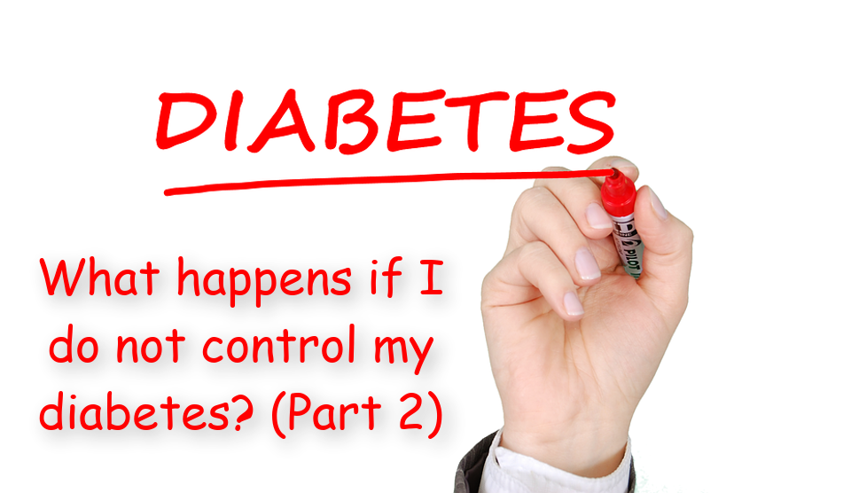 What happens if I do not control my diabetes? (Part 2)