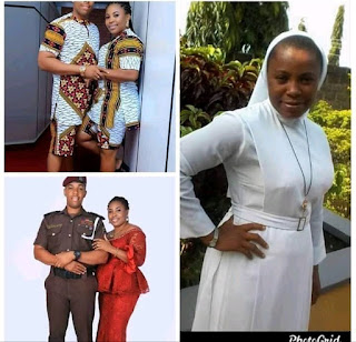 Photo Of Catholic Reverend Sister Who Allegedly Police Marry An Police Officer