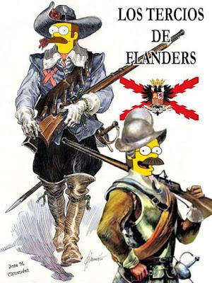 Meme de humor sobre los Simpson
