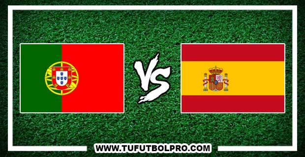 Ver Portugal vs España EN VIVO Por Internet Hoy 20 de Junio 2017