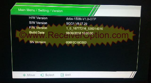 NEXT 8000 HD RECEIVER FLASH FILE WITH YOUTUBE OPTION