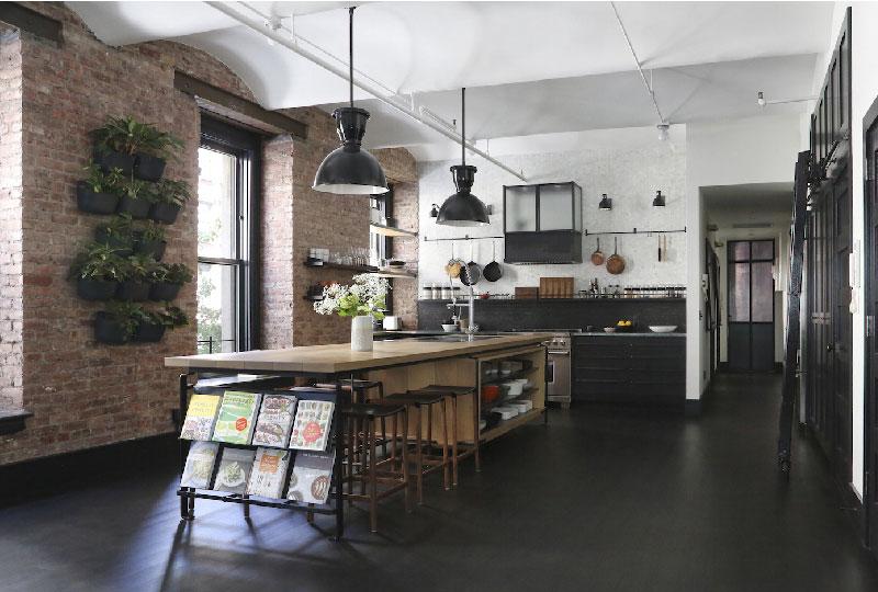 cucina stile industrial