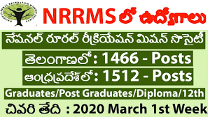 National Rural Recreation Mission Society (NRRMS) Recruitment for Various Posts in AP and TS Apply @nrrmsvacancy.com /2020/02/NRRMS-Recruitment-for-Various-Posts-in-AP-and-TS-Apply-at-nrrmsvacancy.com.html