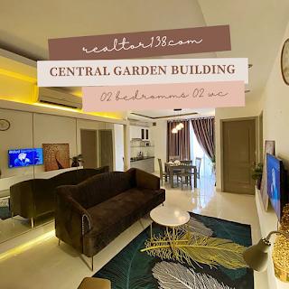 cho thuê 2 phòng ngủ central garden building q1