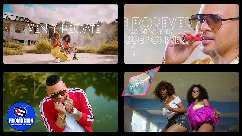 Jacob Forever - ¨Ven y pégate¨ - Videoclip - Director: Freddy Loons. Portal Del Vídeo Clip Cubano. Música cubana. Reguetón. Cuba.