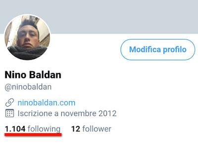 Il mio profilo invaso da migliaia di falsi following