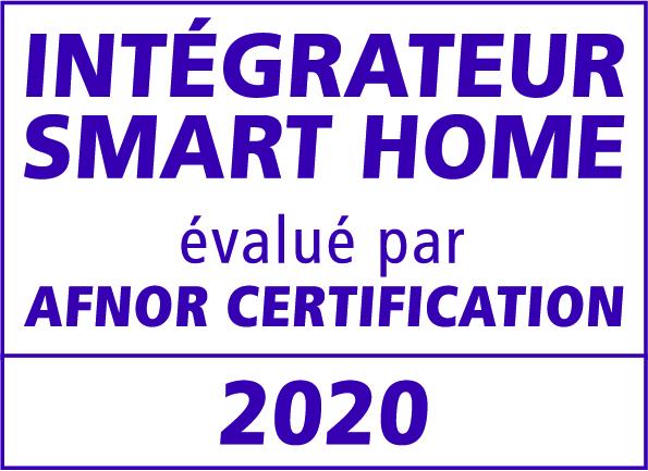 YourSmartHomeDesign certifié par l'AFNOR Intégrateur SMARTHOME de confiance - 2020
