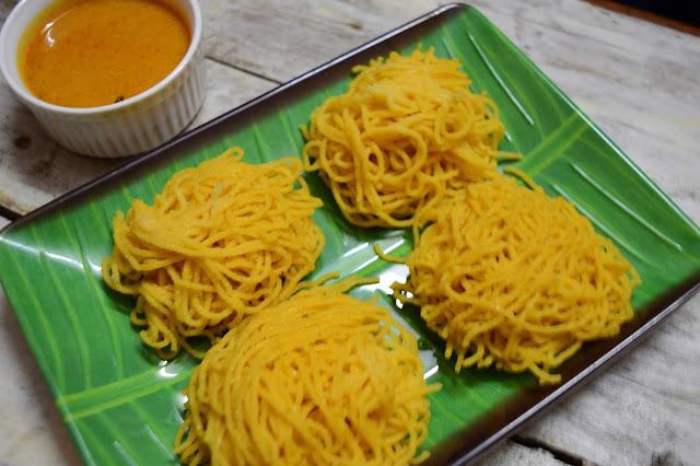 Corn idiyappam | Maize flour string hoppers