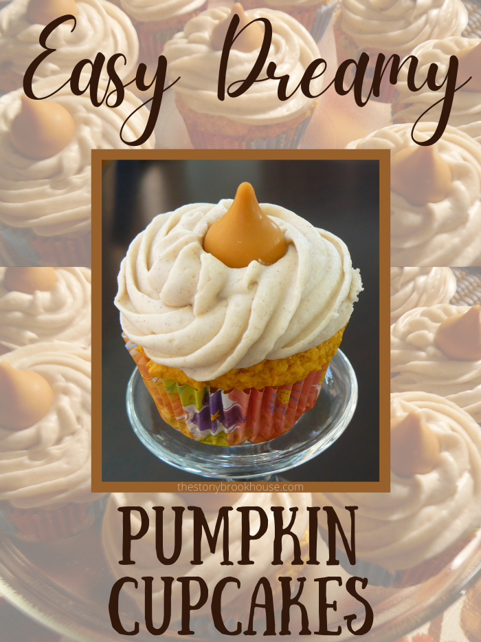 Easy Dreamy Pumpkin Cupcakes