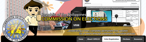 iRehistro, an internet-based Registration Project by COMELEC now started to roll out within Metro Manila