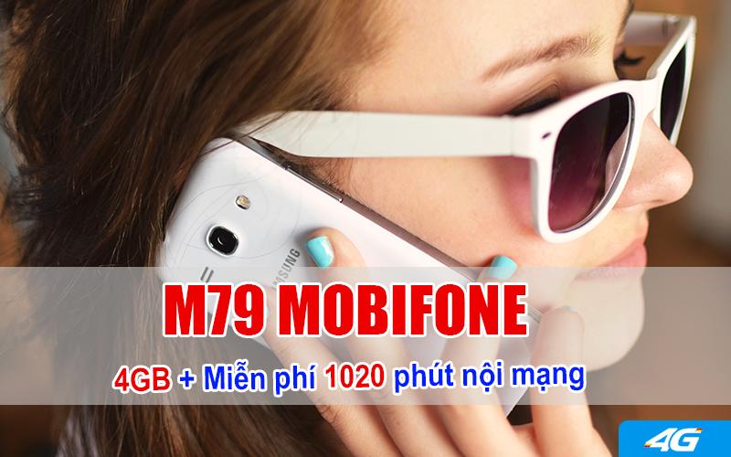 goi cước M79 MobiFone
