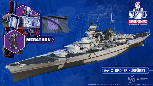 transformers world of warships