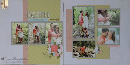 Hello Lovely - Engagement Layout
