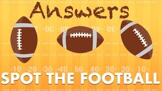 spot the football quiz answers 100% score quizdiva