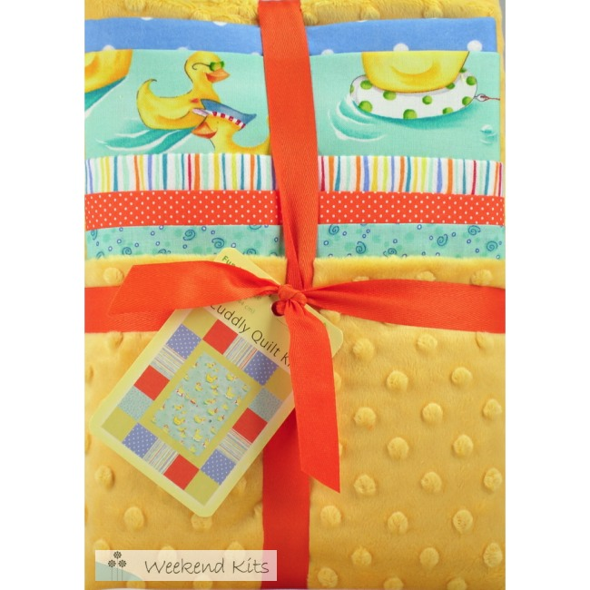 Weekend Kits Blog: Cuddly Quilt Kits - Easy Quilts for Baby & Children