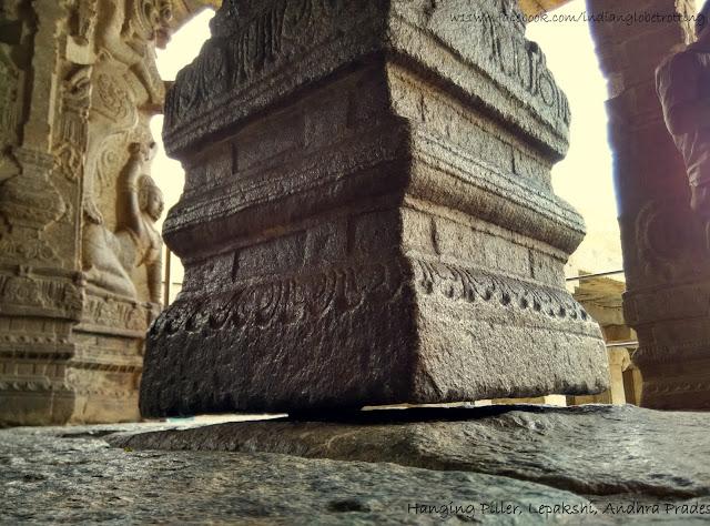Hanging Pillar of Lepakshi