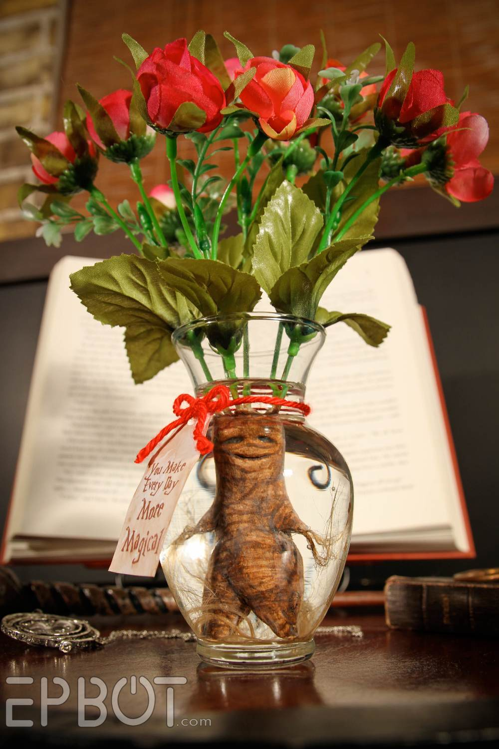 Diy A Harry Potter Inspired Mandrake Root Valentine Bouquet