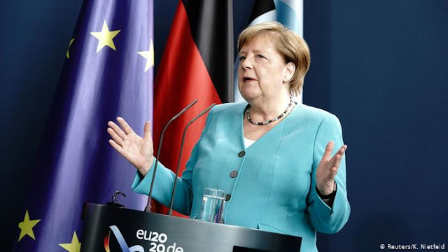 Merkel to meet EU heads in Brussels to discuss economic recovery