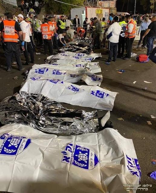 مصرع 20 شخصاً إثر انهيار مدرّج خلال حفل فى إسرائيل