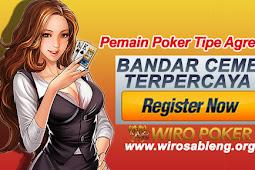 Pemain Poker Tipe Agresif