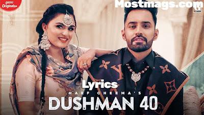 Dushman 40 Lyrics