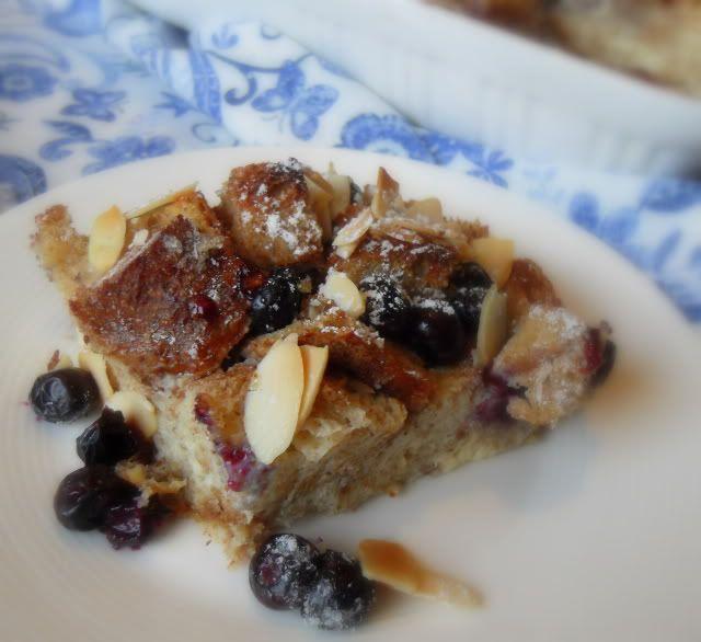 Blueberry & Almond Breakfast Bake
