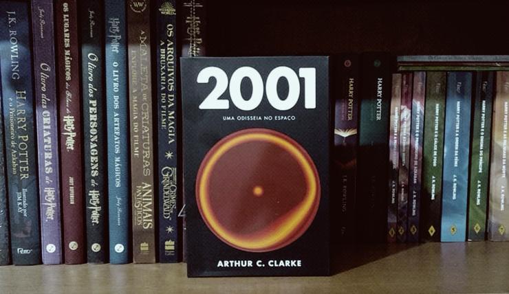 Imagem do livro 2001: Uma odisseia no espaço