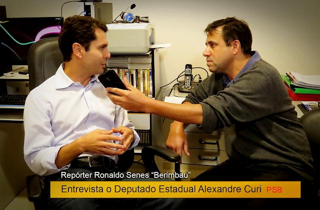 """Repórter Ronaldo Senes """"Berimbau"""" em Entrevista"""