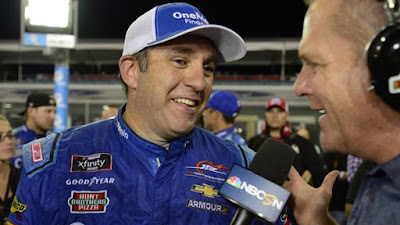 Sadler's Last Ride #NASCAR