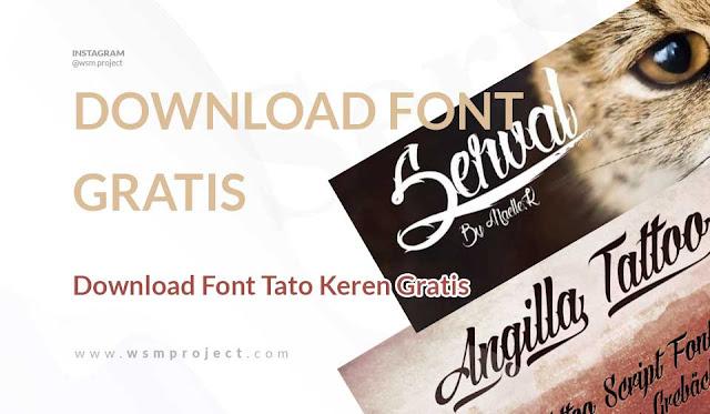 Download Font Tato