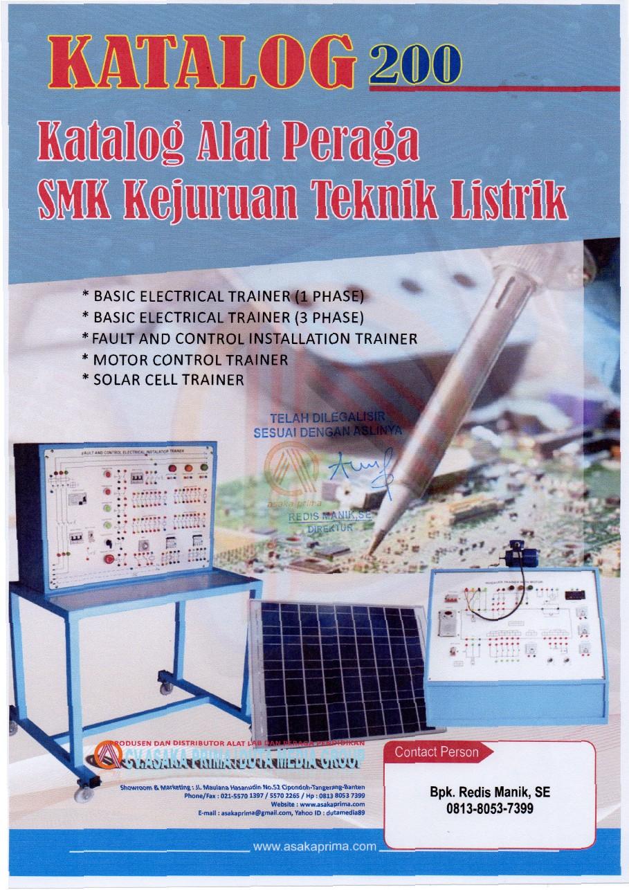 Alat Peraga Praktek Smk Teknik Electric Alat Praktek
