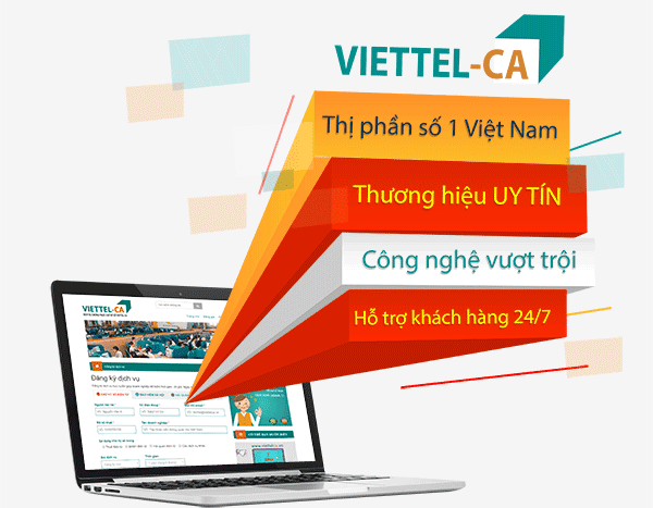 Viettel-CA Nhà cung cấp chữ ký số hàng đầu Việt Nam